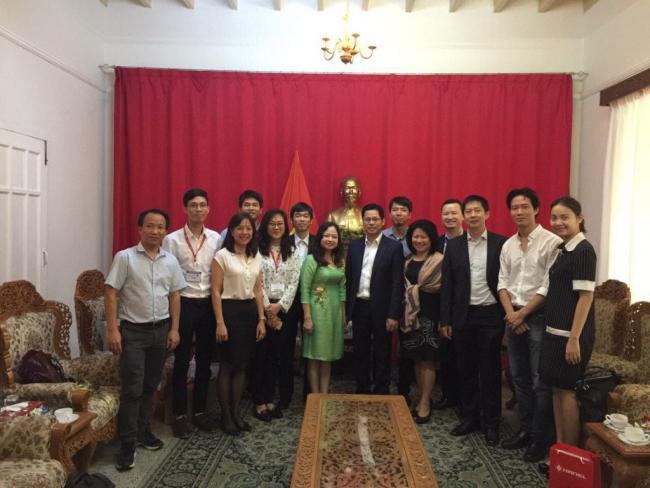 Hyperlogy cùng đoàn doanh nghiệp Việt Nam thăm và làm việc với Đại sứ quán Việt Nam tại Myanmar