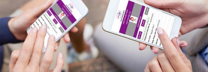 Mobile eKYC được Hyperlogy ứng dụng Sinh trắc học nhằm tăng tính xác thực khi khách hàng đăng ký dịch vụ.