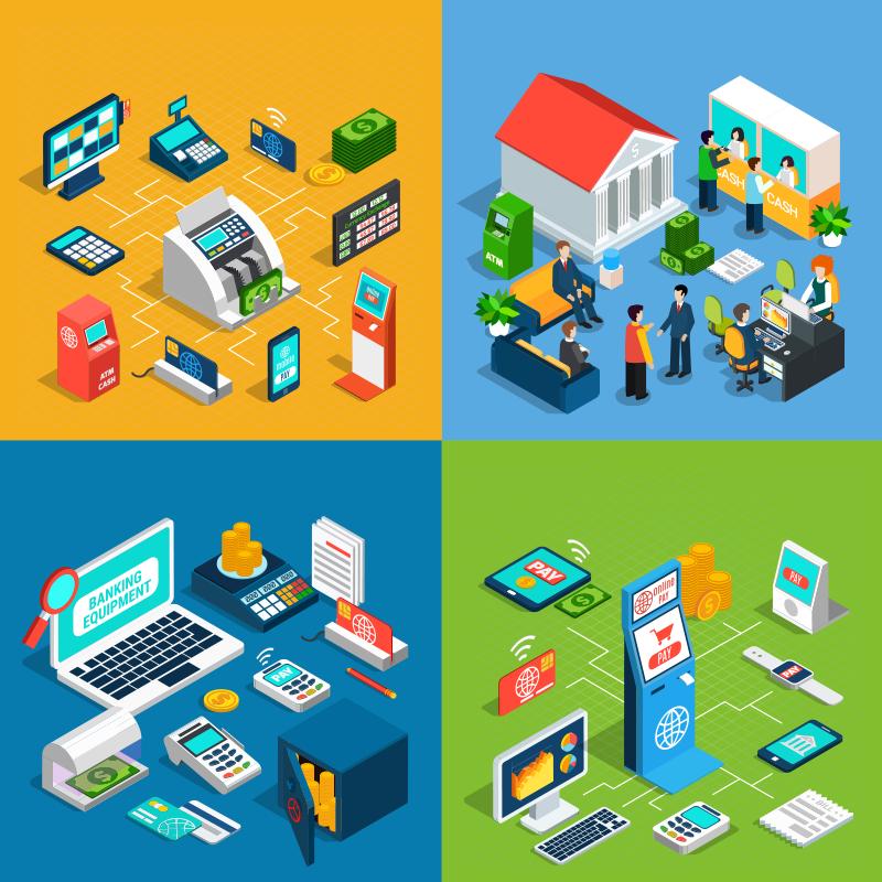 Ngân hàng có nhiều hệ thống khác nhau và cơ sở dữ liệu đồ sộ