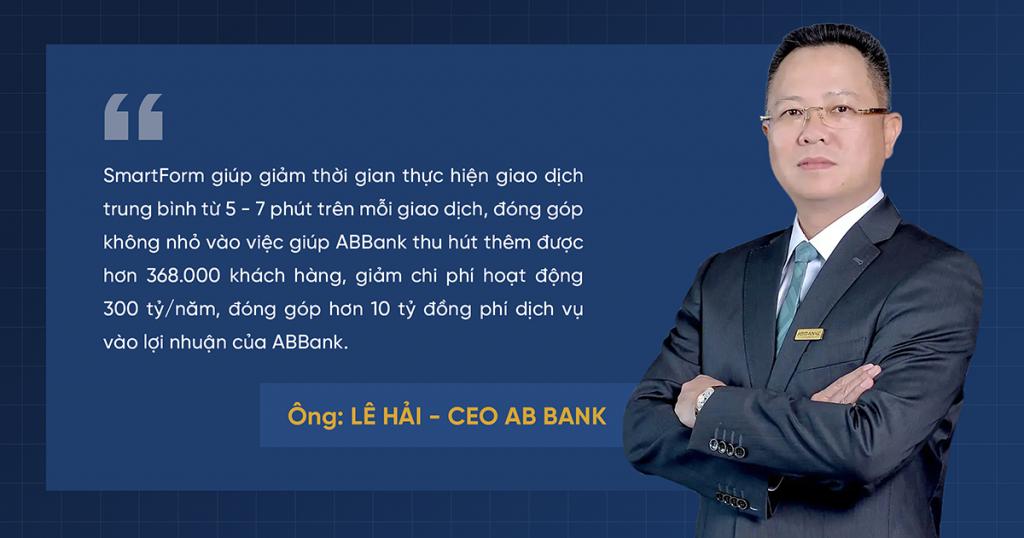 ABBank CEO Lê Hải